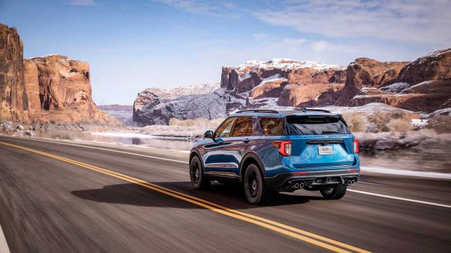 2020 Ford Explorer ST rear