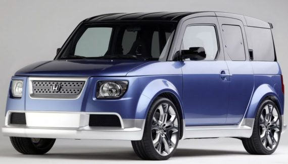 2020 Honda Element front