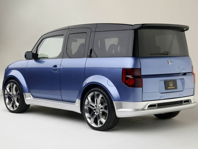 2020 Honda Element rear