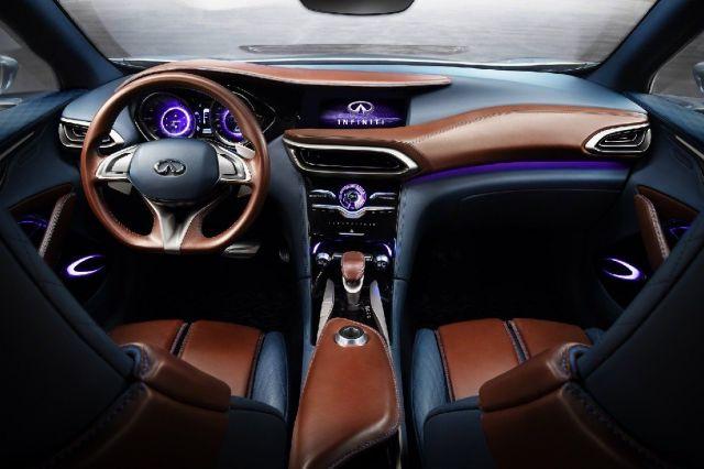 2020 Infiniti QX70 interior