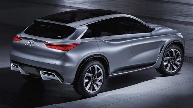 2020 Infiniti QX70 rear