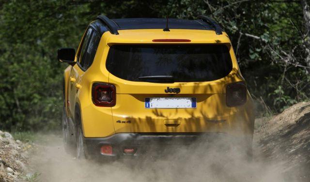 2020 Jeep Renegade rear