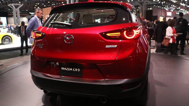 2020 Mazda CX-3 rear