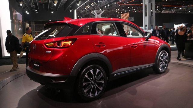 2020 Mazda CX-3 side