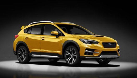 2020 Subaru Crosstrek XTI front