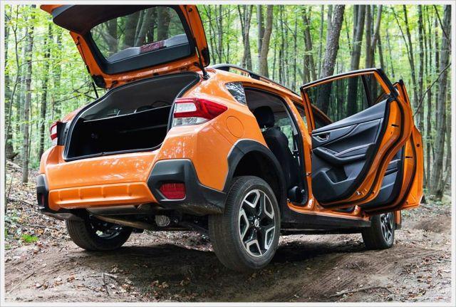 2020 Subaru Crosstrek XTI rear