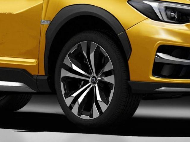 2020 Subaru Crosstrek XTI wheels