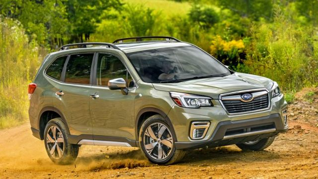 2020 Subaru Forester side