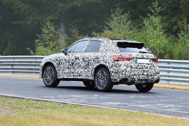 2020 Audi SQ3 rear