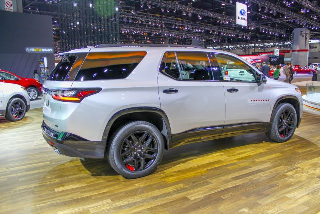 2020 Chevy Traverse rear