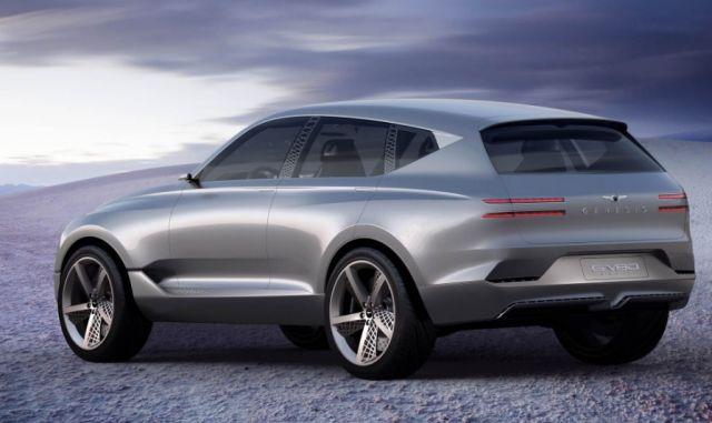 2020 Genesis GV80 rear