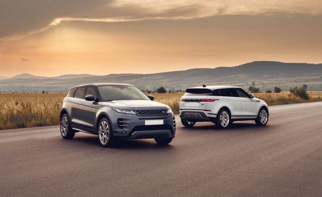 2020 Land Rover Range Rover Evoque front