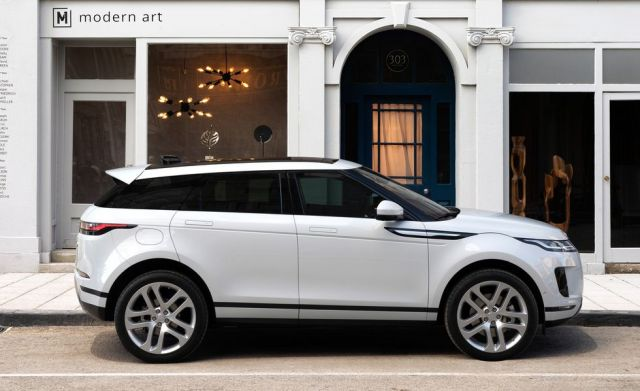 2020 Land Rover Range Rover Evoque side