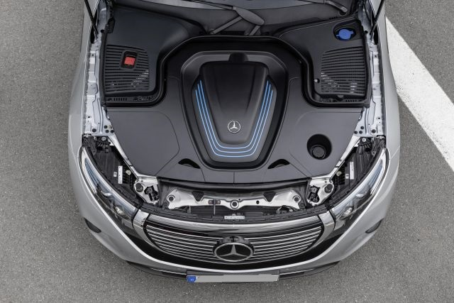 2020 Mercedes-Benz EQC engine