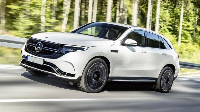 2020 Mercedes-Benz EQC front