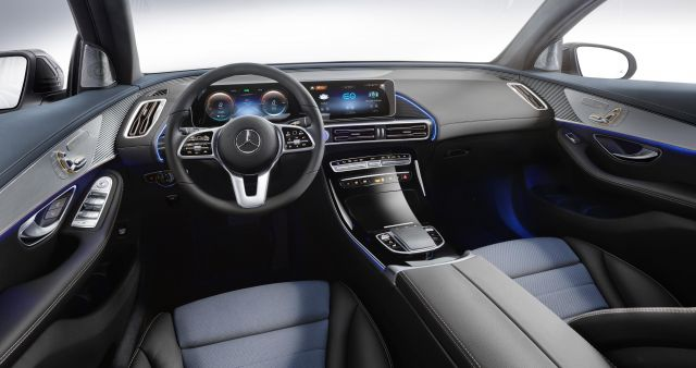 2020 Mercedes-Benz EQC interior look