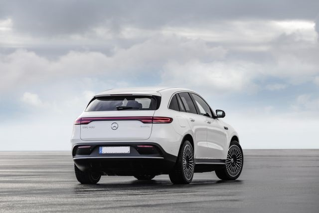 2020 Mercedes-Benz EQC rear