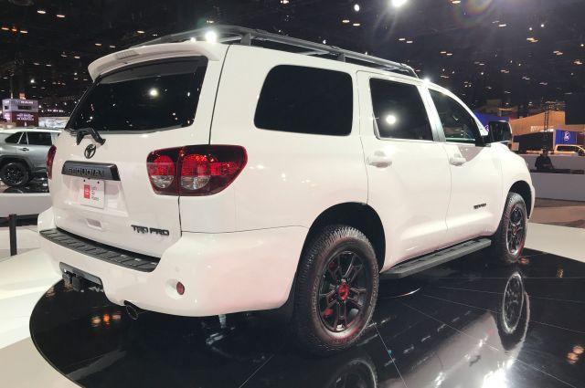 2020 Toyota Sequoia TRD Pro rear