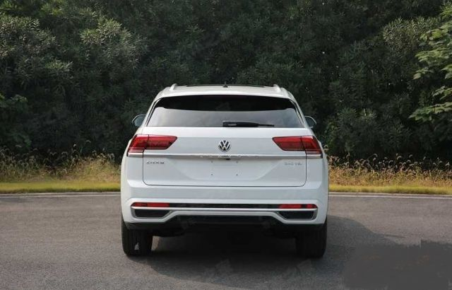 2020 VW Atlas Cross Sport rear