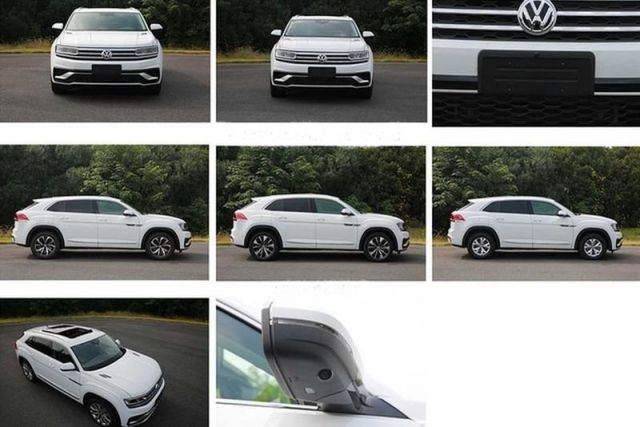 2020 VW Atlas Cross Sport look