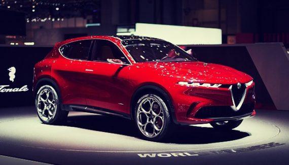 2020 Alfa Romeo Tonale exterior