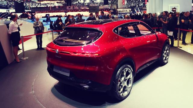 2020 Alfa Romeo Tonale rear