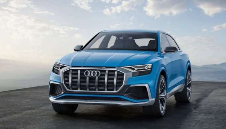 2020 Audi Q8 front