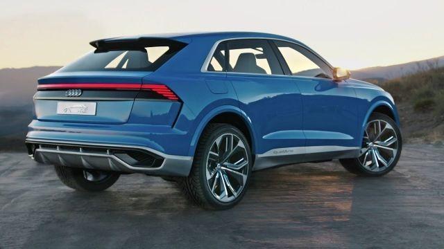 2020 Audi Q8 rear