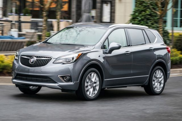 2020 Buick Envision front