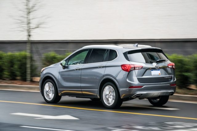2020 Buick Envision rear