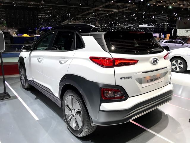 2020 Hyundai Kona Electric rear
