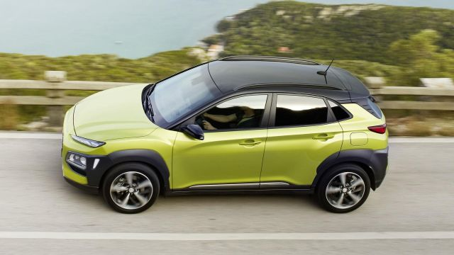 2020 Hyundai Kona side