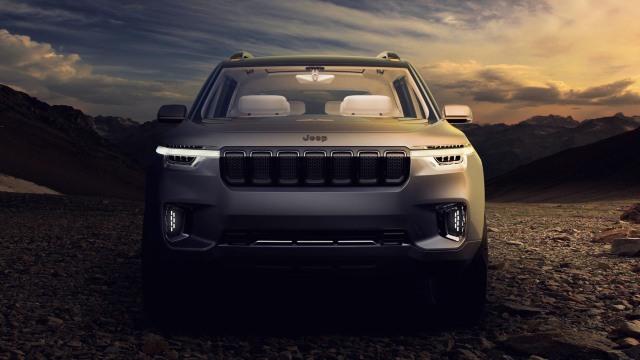 2020 Jeep Wagoneer Yuntu