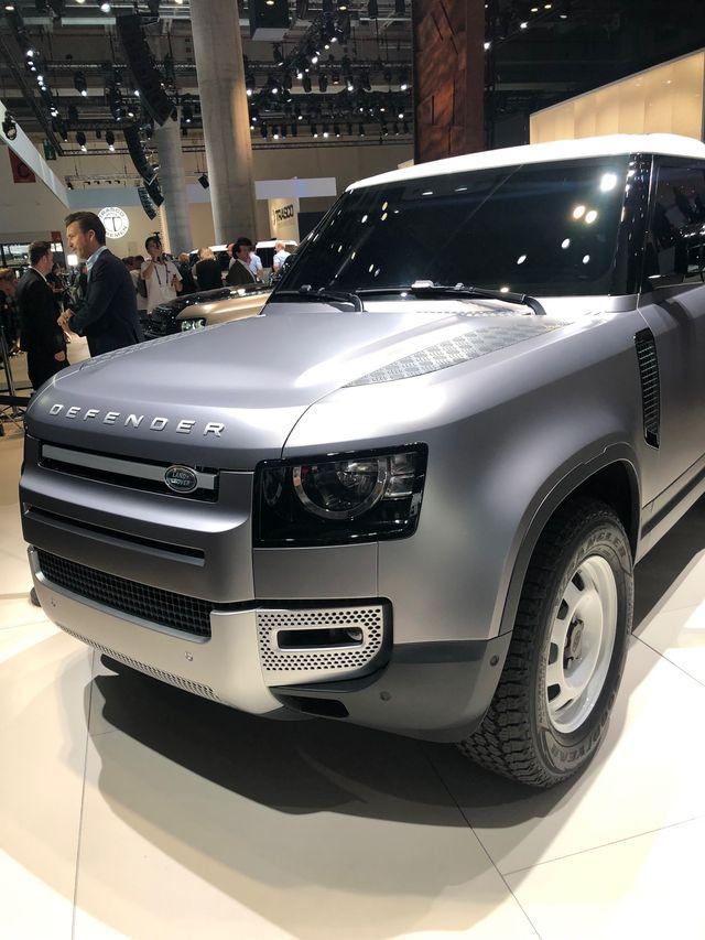 2020 Land Rover Defender Frankfurt Show