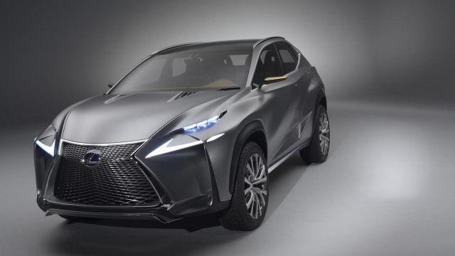 2020 Lexus NX front