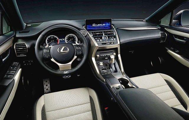 2020 Lexus NX interior