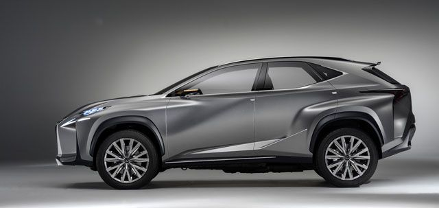 2020 Lexus NX side view