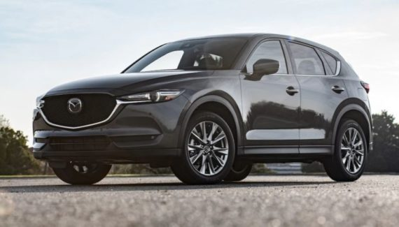 2020 Mazda CX-5 Turbo front