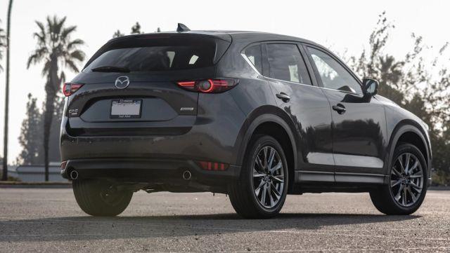 2020 Mazda CX-5 Turbo rear