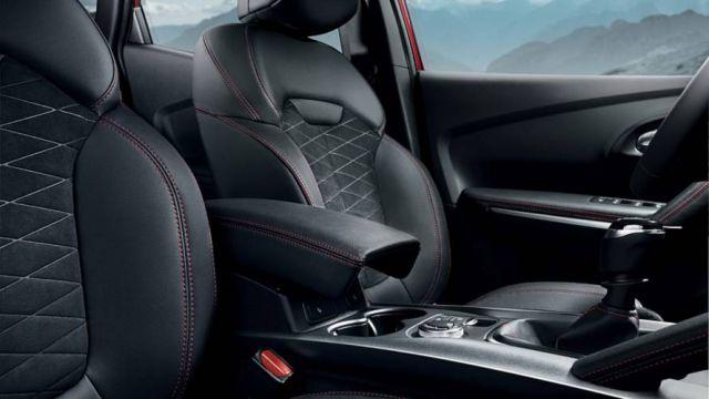 2020 Renault Kadjar seats
