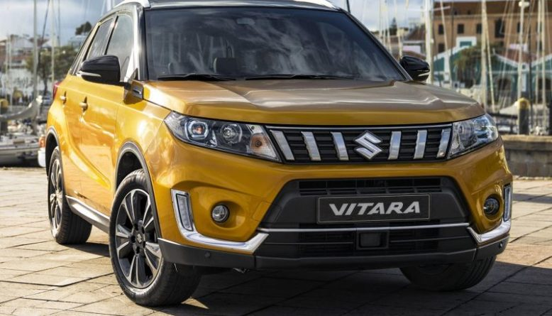 2020 Suzuki Vitara front