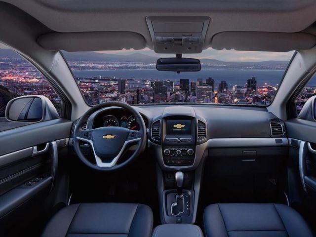 2020 Chevrolet Captiva interior
