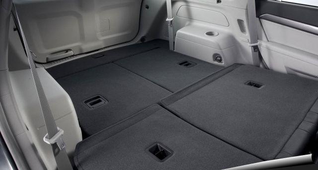 2020 Chevrolet Captiva trunk