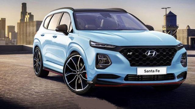2020 Hyundai Santa Fe N front
