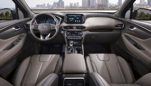 2020 Hyundai Santa Fe N interior