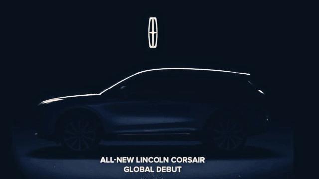 2020 Lincoln Corsair teaser