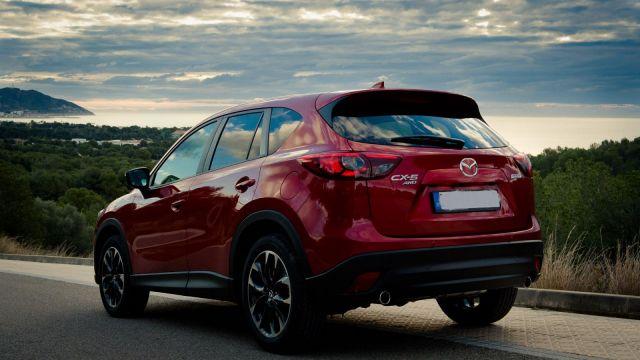 2020 Mazda Cx-5 Diesel rear