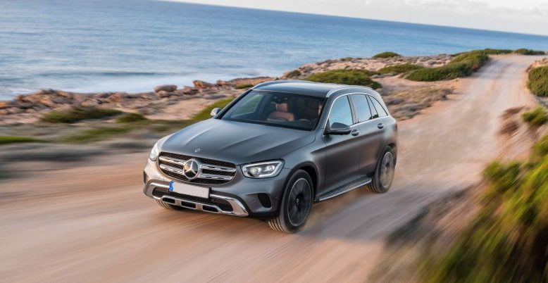 2020 Mercedes-Benz GLC front