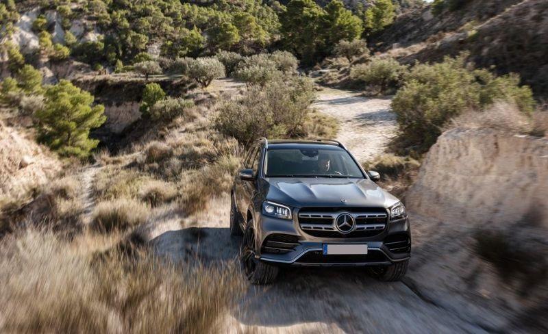 2020 Mercedes-Benz GLS front