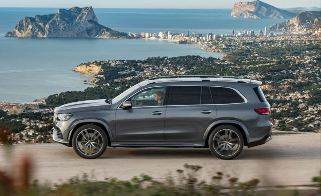 2020 Mercedes-Benz GLS side
